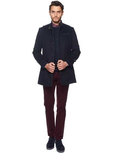 Dik Yaka Klasik Palto-Altınyıldız Classics